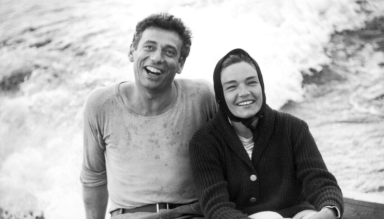 Yves Montand ja Simone Signoret. Foto: Vida Press