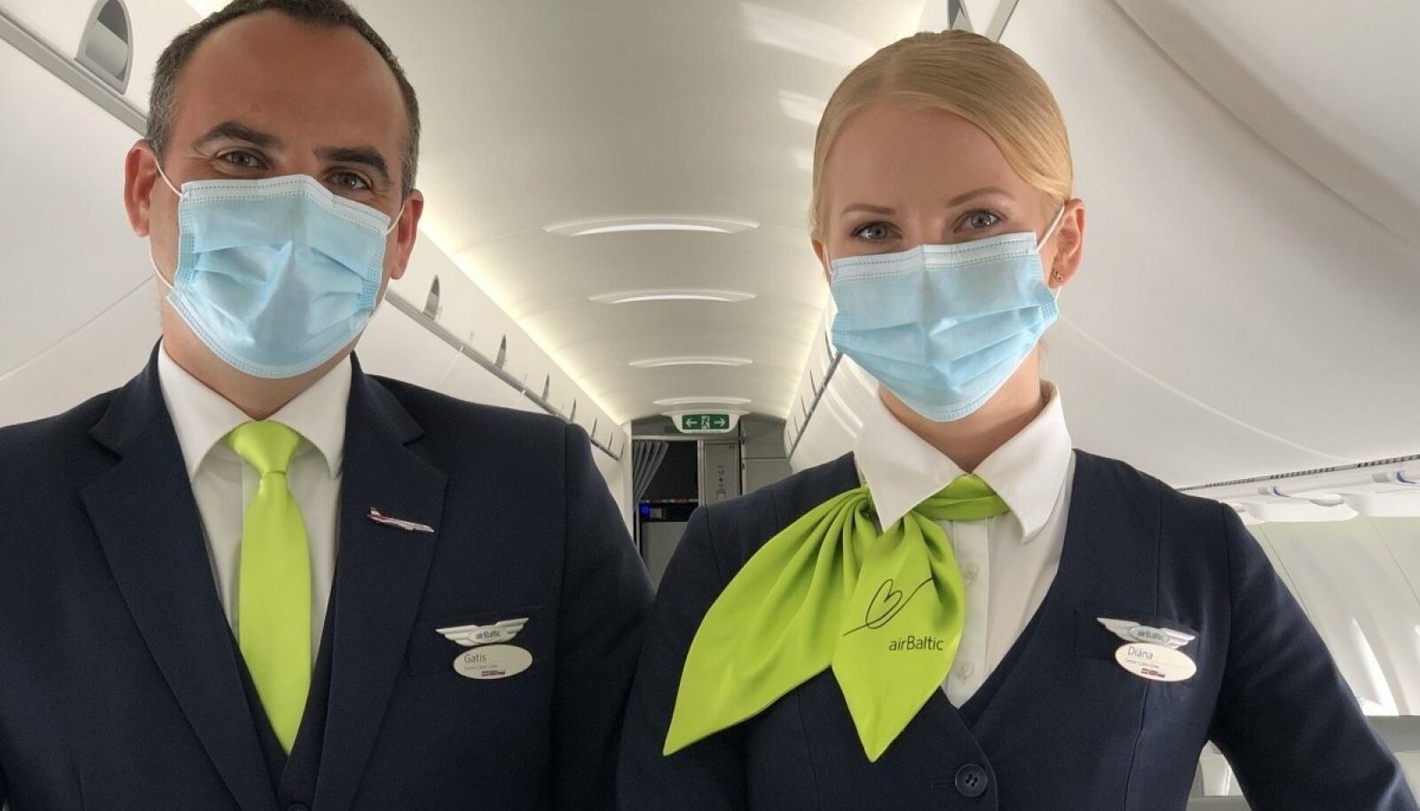 Иллюстративное фото. Представленные на фото сотрудники airBaltic в статье не упоминаются.