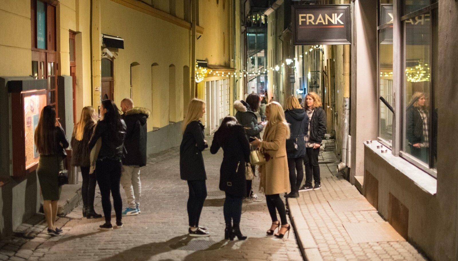 Pidu Tallinna vanalinnas