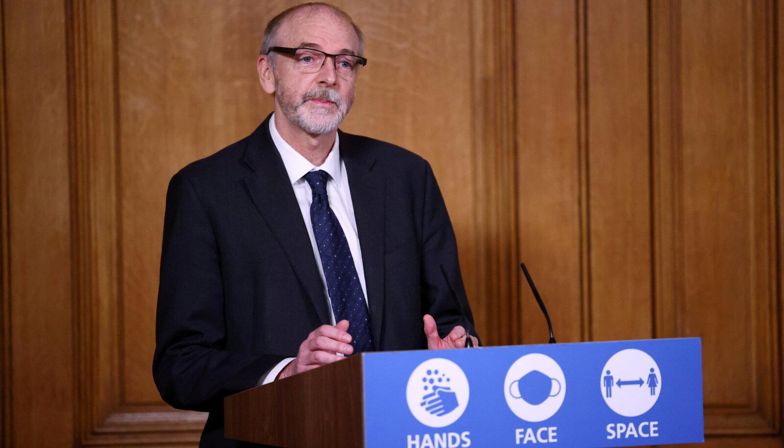 Sir Andrew Pollard möödunud novembris esinemas (foto: REUTERS / Scanpix)