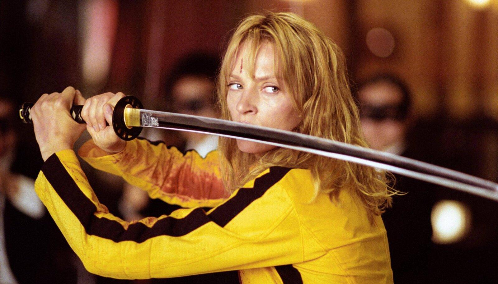 """Uma Thurman filmis """"Kill Bill - Pruudi kättemaks vol. 1"""" (""""Kill Bill"""", 2003)"""