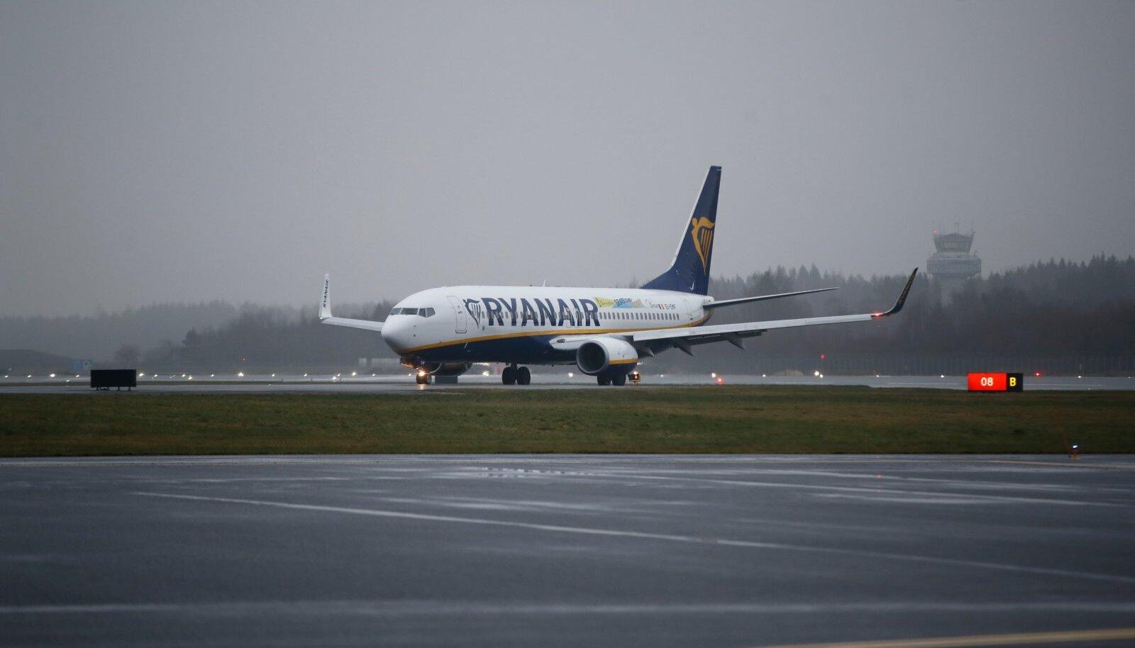 Ryanair püüab Riias turgu endale võita.