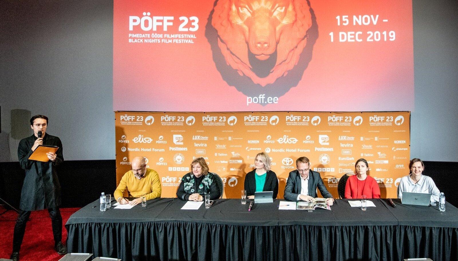 SUURÜRITUS ALGAB: PÖFFi pressikonverents.