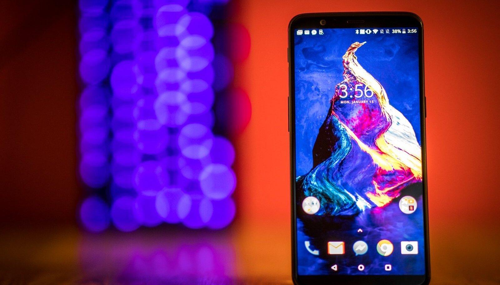 OnePlusi uusim mudel 5T on endiselt oma hinnaklassi parim valik.