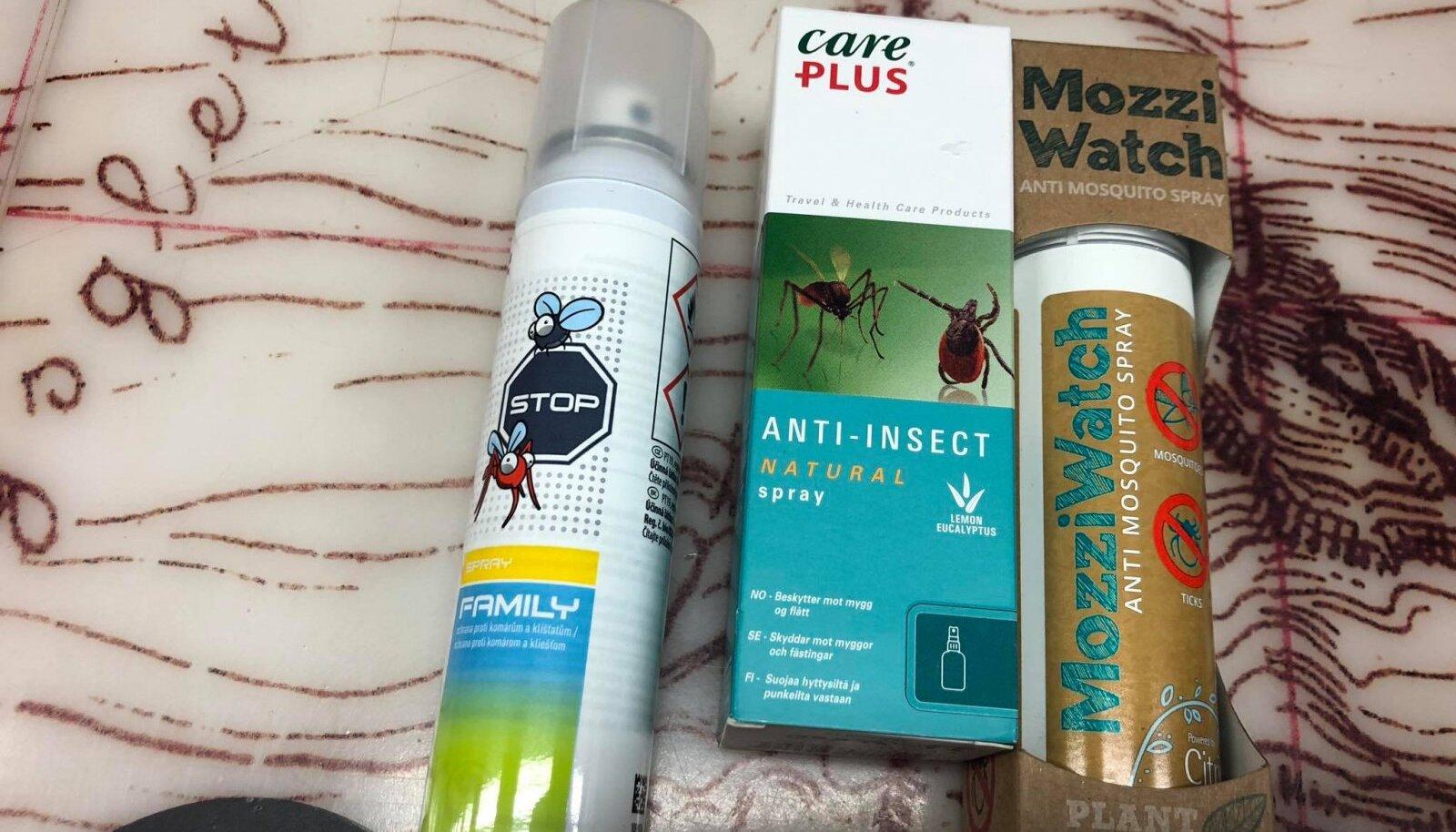 Putukatõrjed