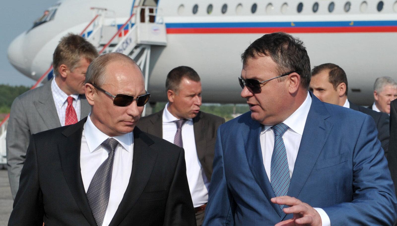 Vladimir Putin ja Anatoli Serdjukov