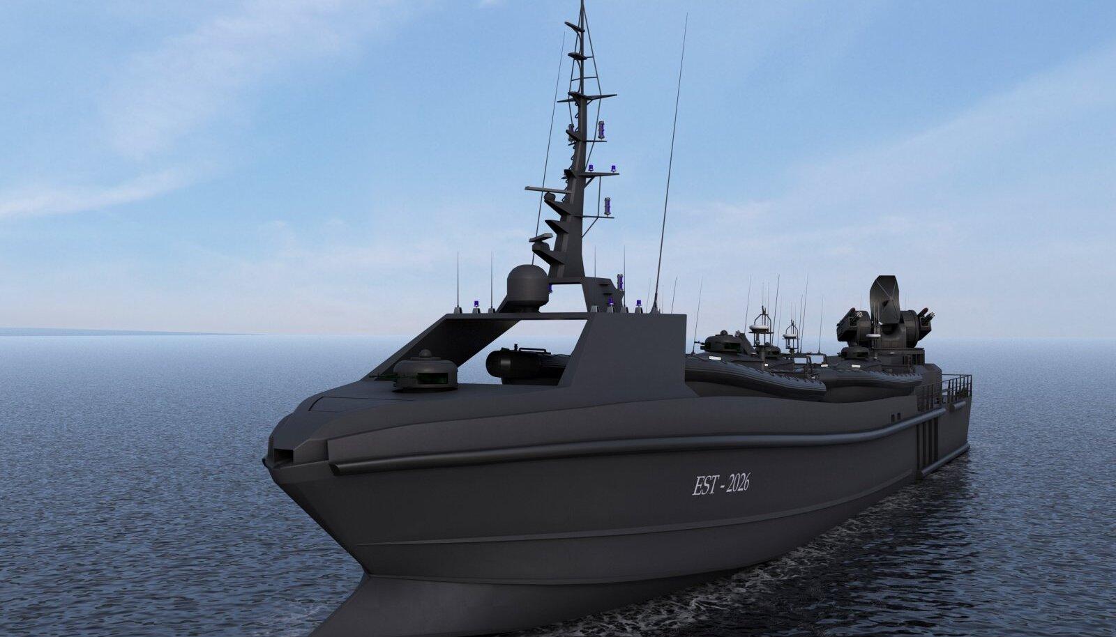 Loodetavasti on Eesti mereväel 2035. aastaks kolm kuni kuus moodullaeva, mida juhib tehisintellekt.