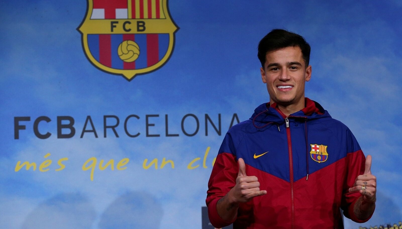 Philippe Coutinho FC Barcelona värvides.