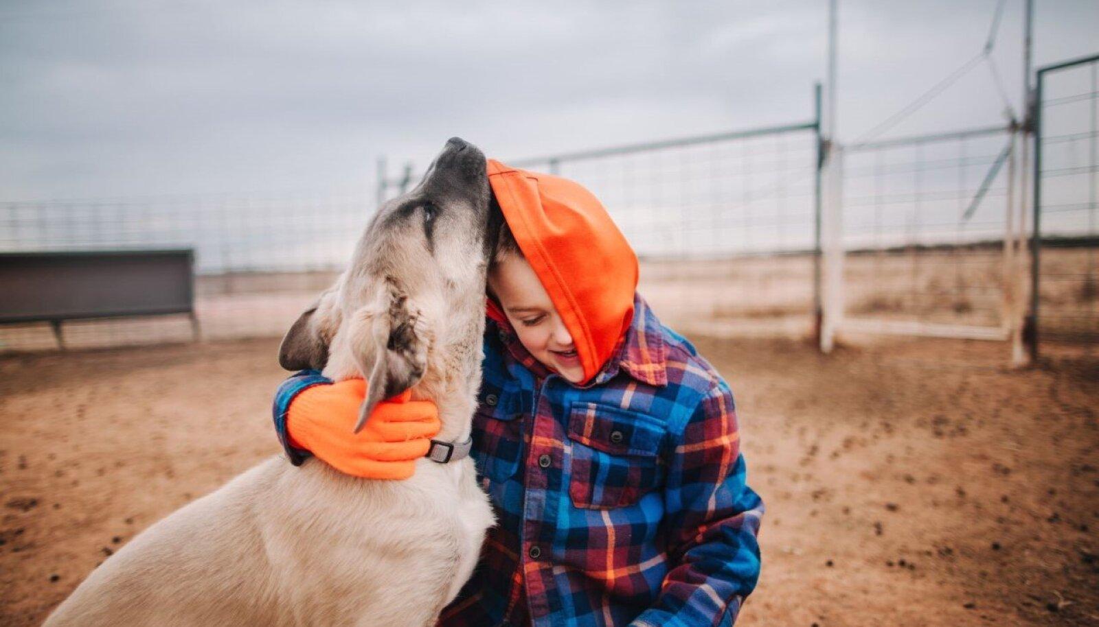 Lemmikloom õpetab lapsele hoolimist ja vastutust