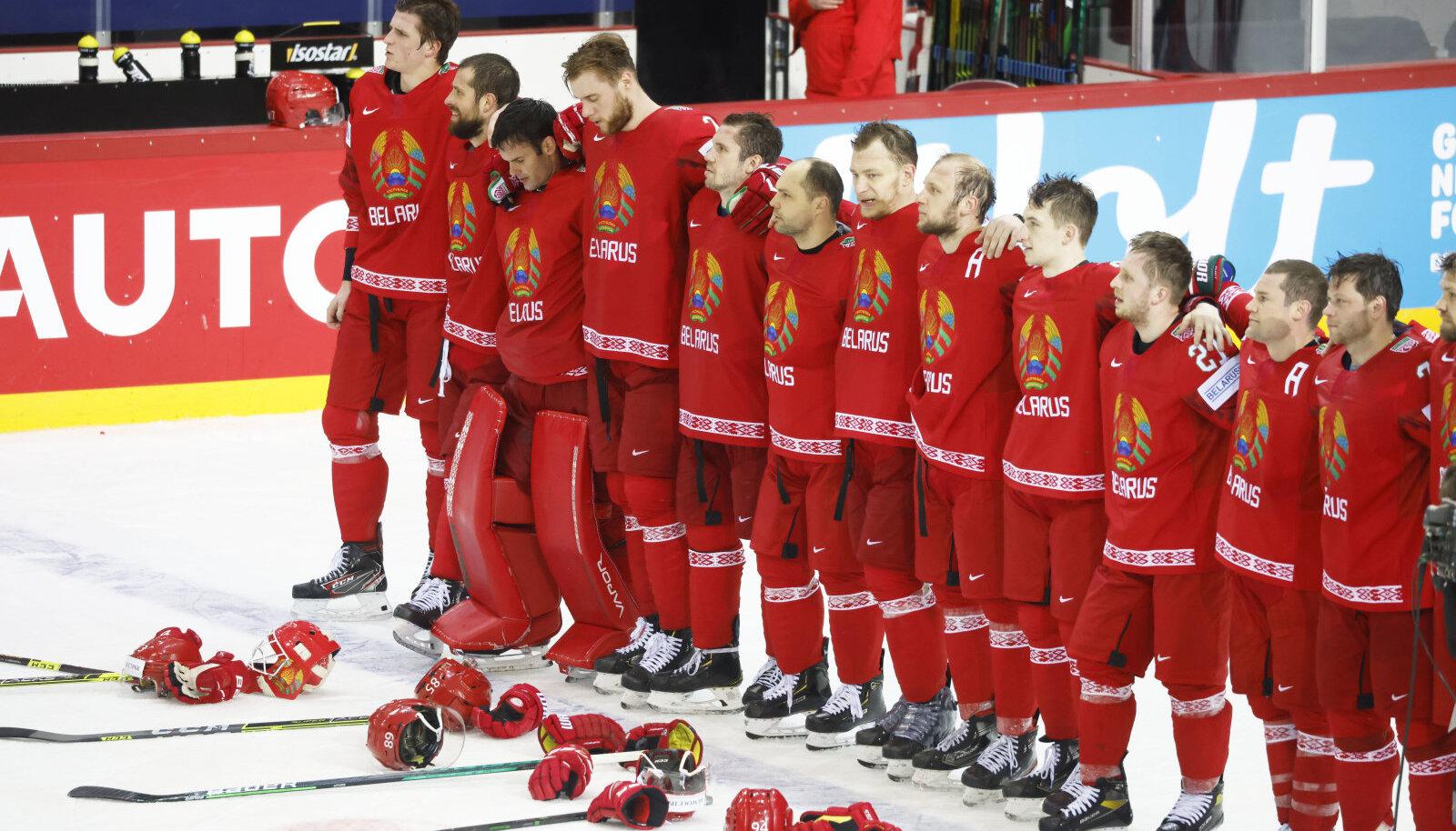 Valgevene jäähokimängijad
