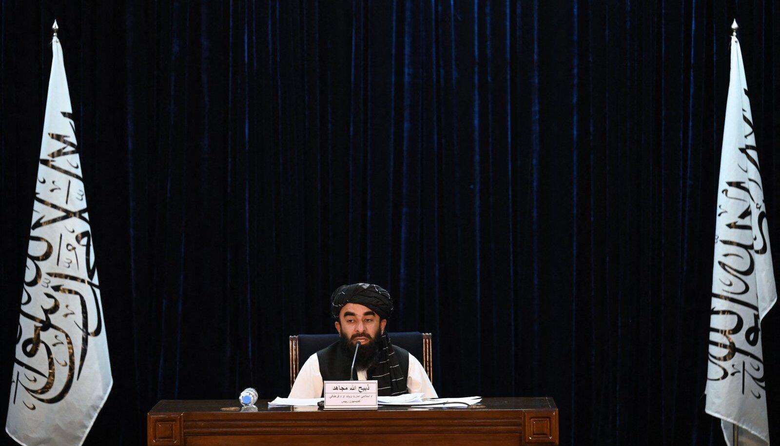 Talibani pressiesindaja Zabihullah Mujahid avalikustas uue valitsuse koosseisu teiispäeval.