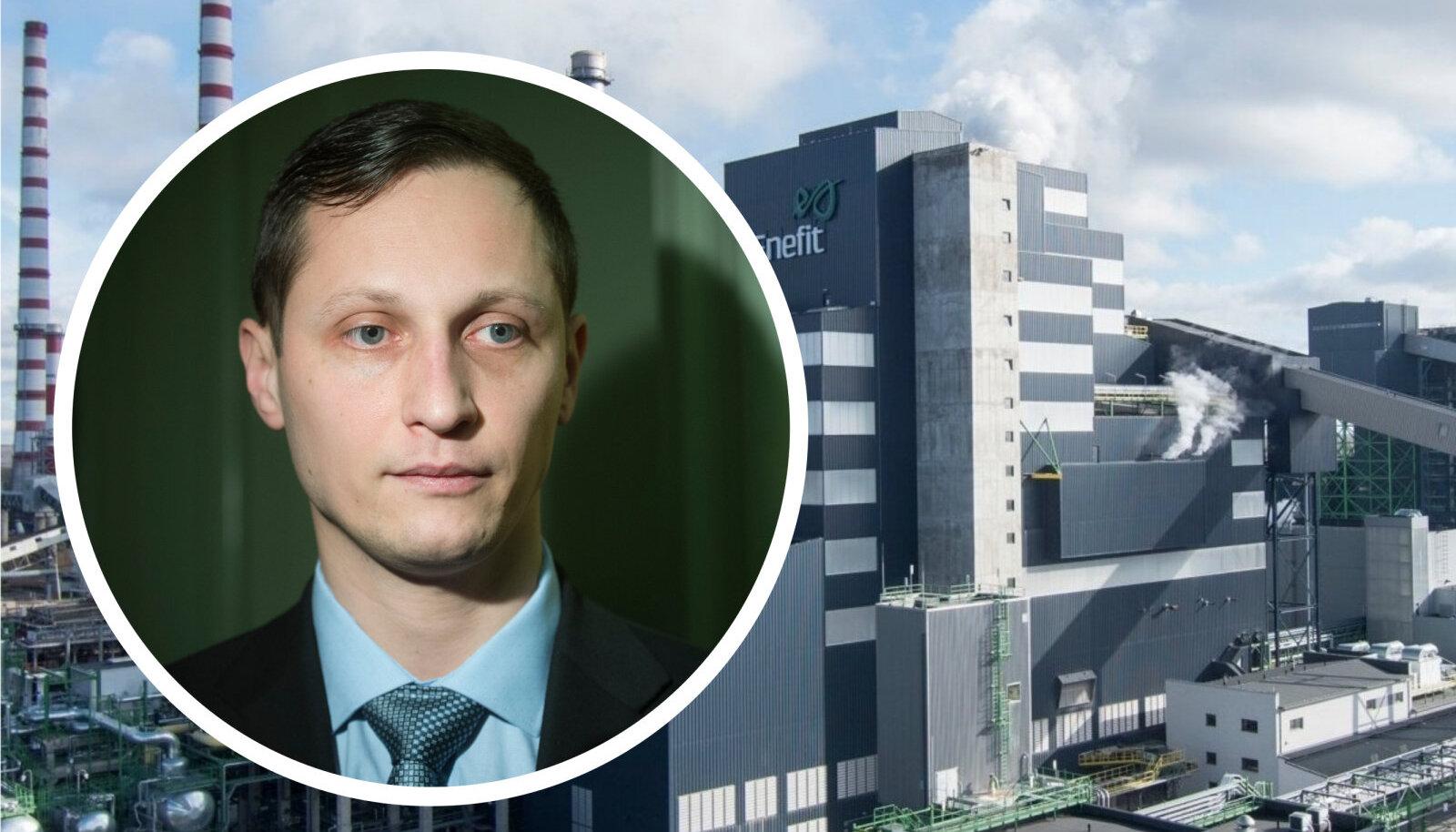 Põlevkivi toetusrühma esimees Dmitri Dmitrijev