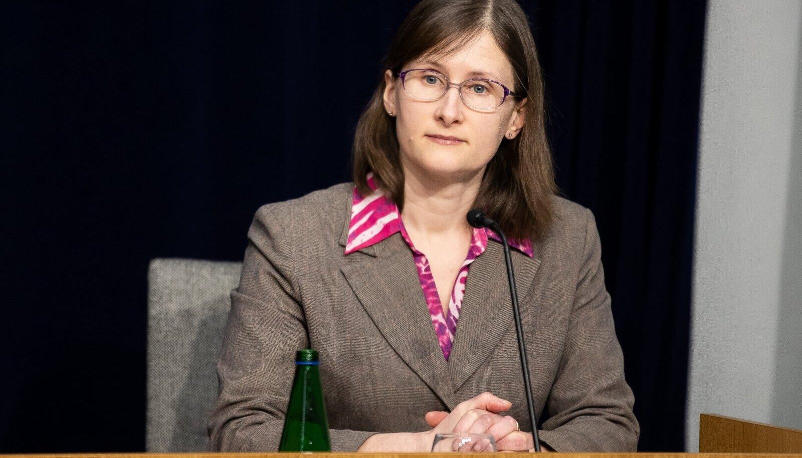 Tallinn, 23.03.2020. Asutusteülene briifing eriolukorra kohta ühendministeeriumis.