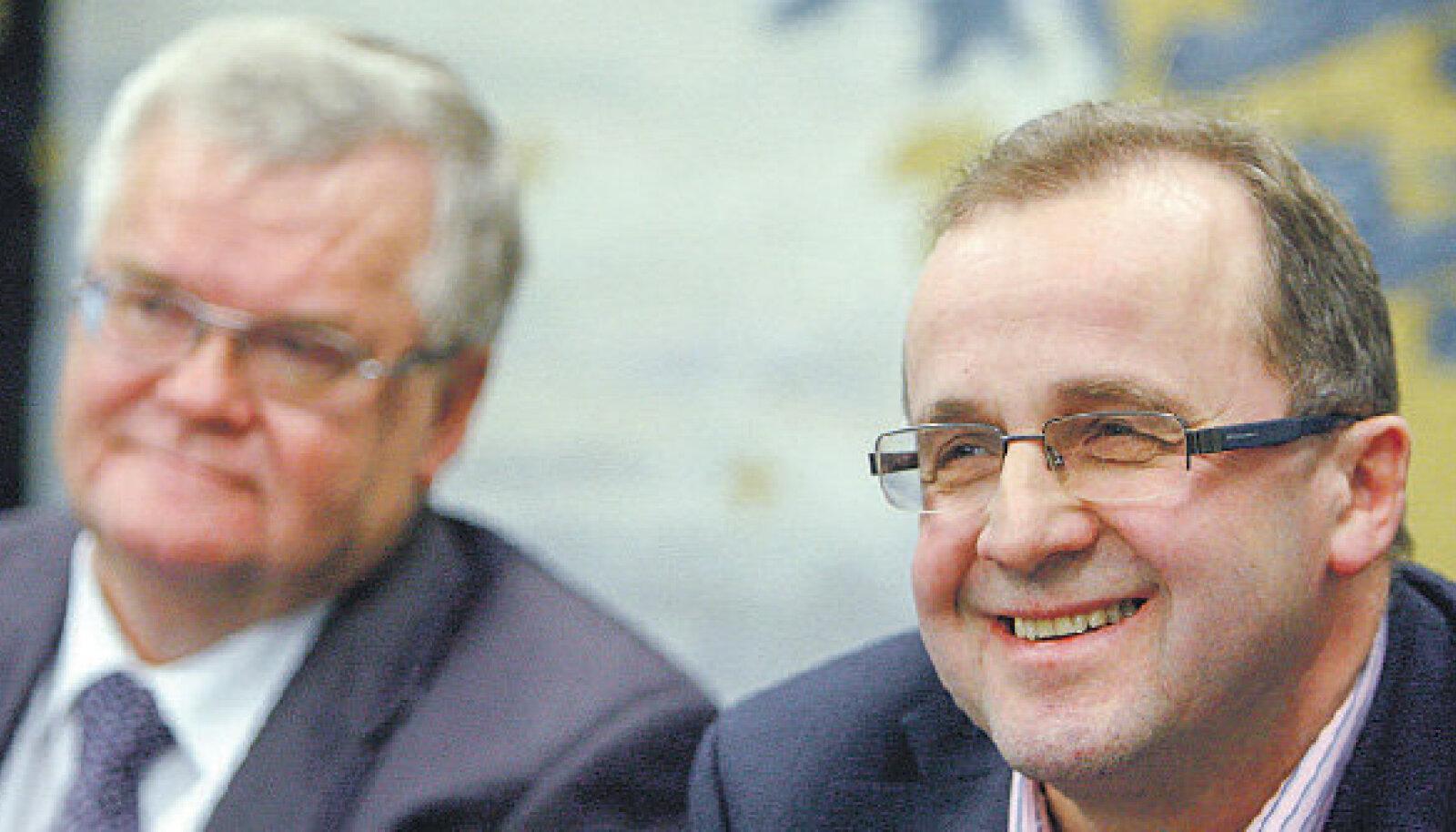 Keskerakonna õnn ja õnnetus on selle esimees Edgar Savisaar (vasakul), ütleb endine erakonnakaaslane, vastne reformierakondlane Ain Seppik.