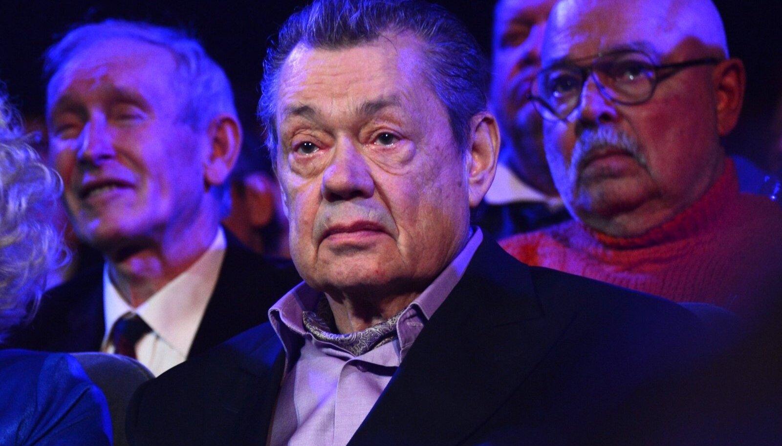 Gala marks Nikolai Karachentsov's 70th birthday at Lenkom Theater