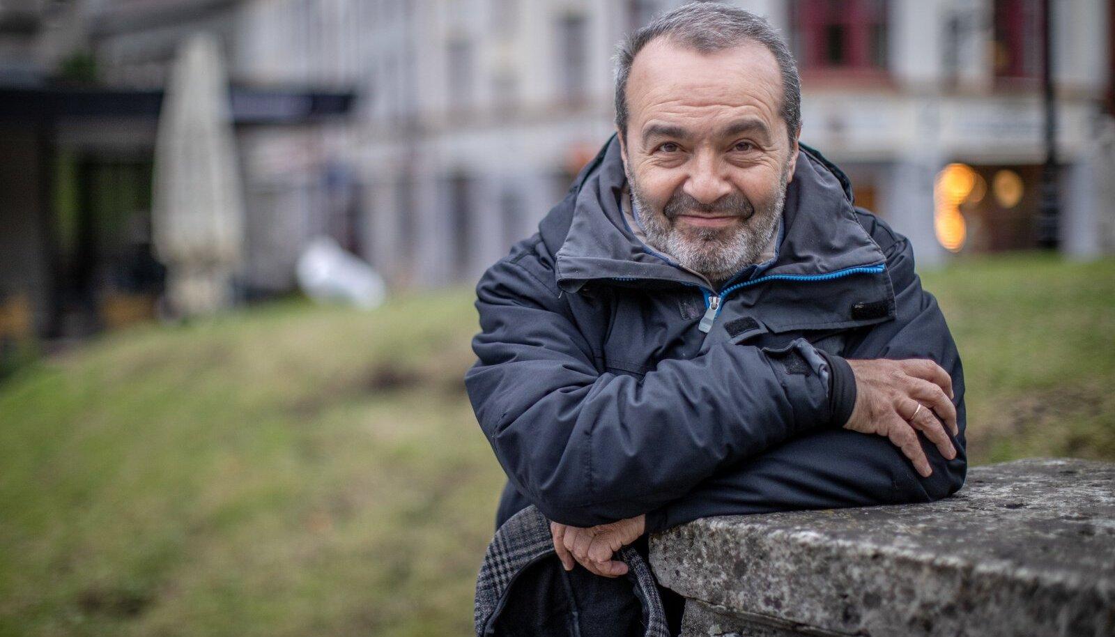 Писатель и журналист Виктор Шендерович в Таллинне