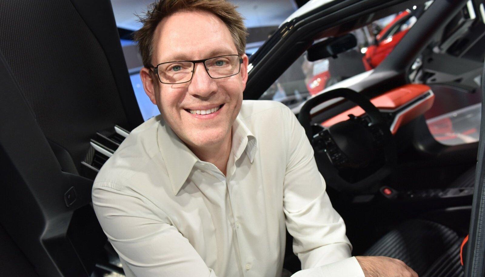 Autodisainer Amko Leenarts rõõmustab, sest tulevik on sooneutraalne.