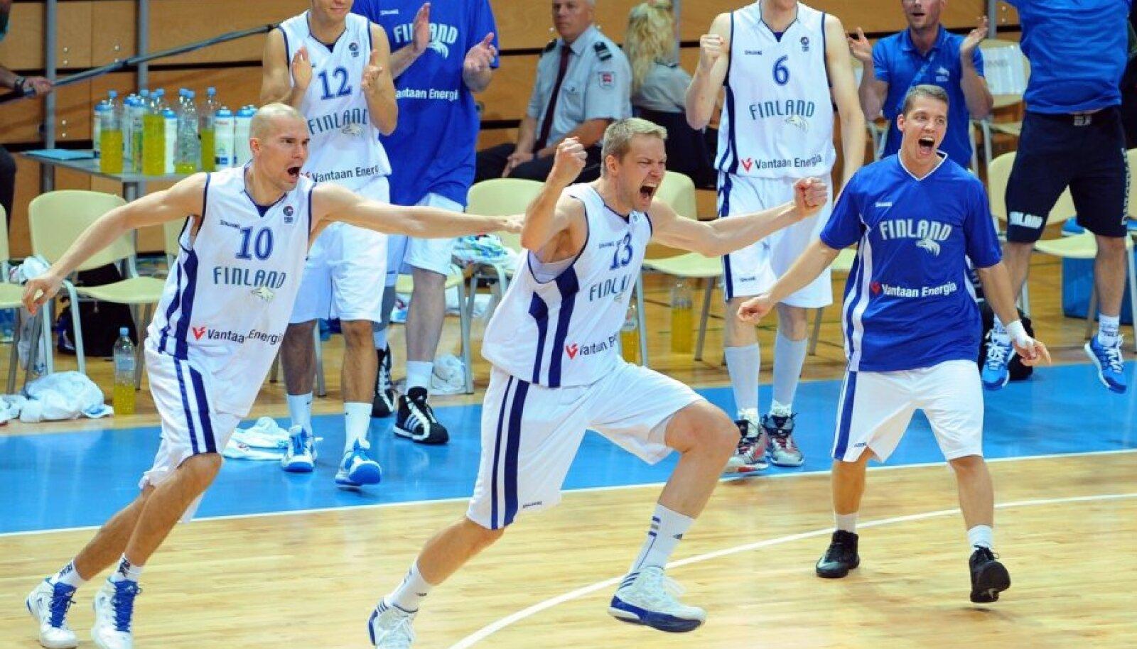 Hanno Möttölä, Soome korvpallikoondis