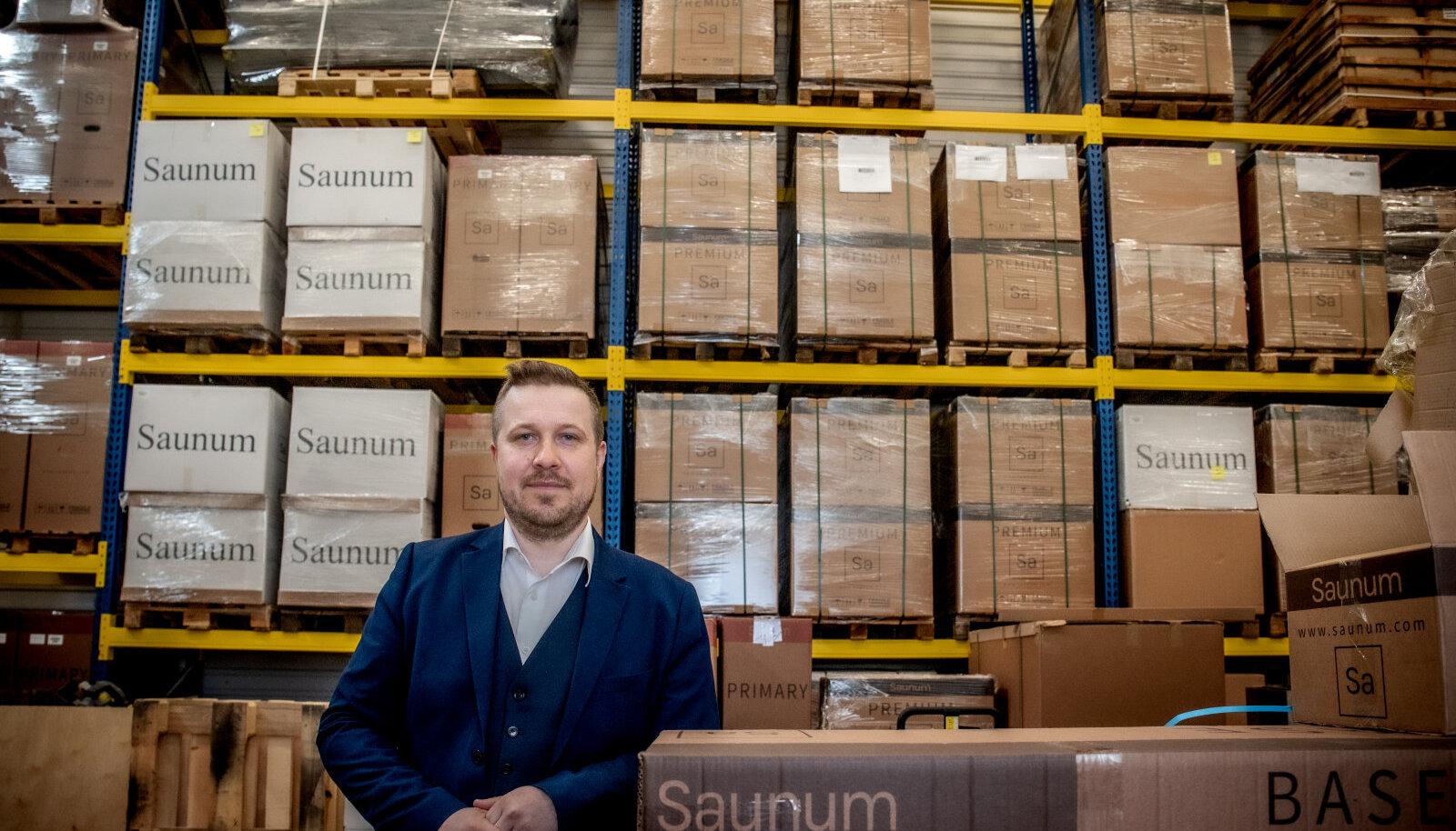 Eesti käive hakkab vaikselt kasvule pöörama, nentis Saunumi juht Henri Lindal (pildil)