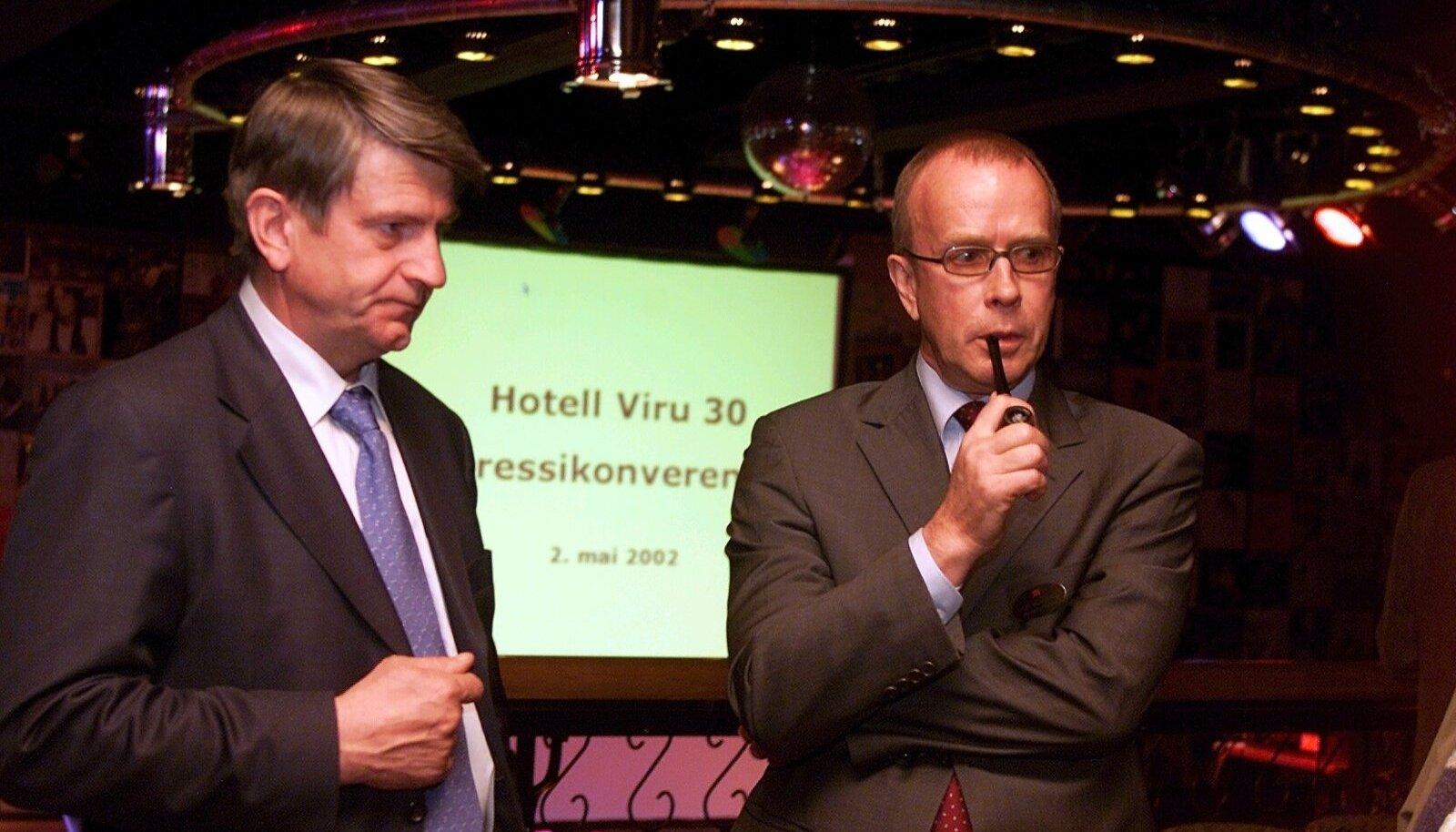 Ilpo Kokkila (vasakul) aastal 2002.