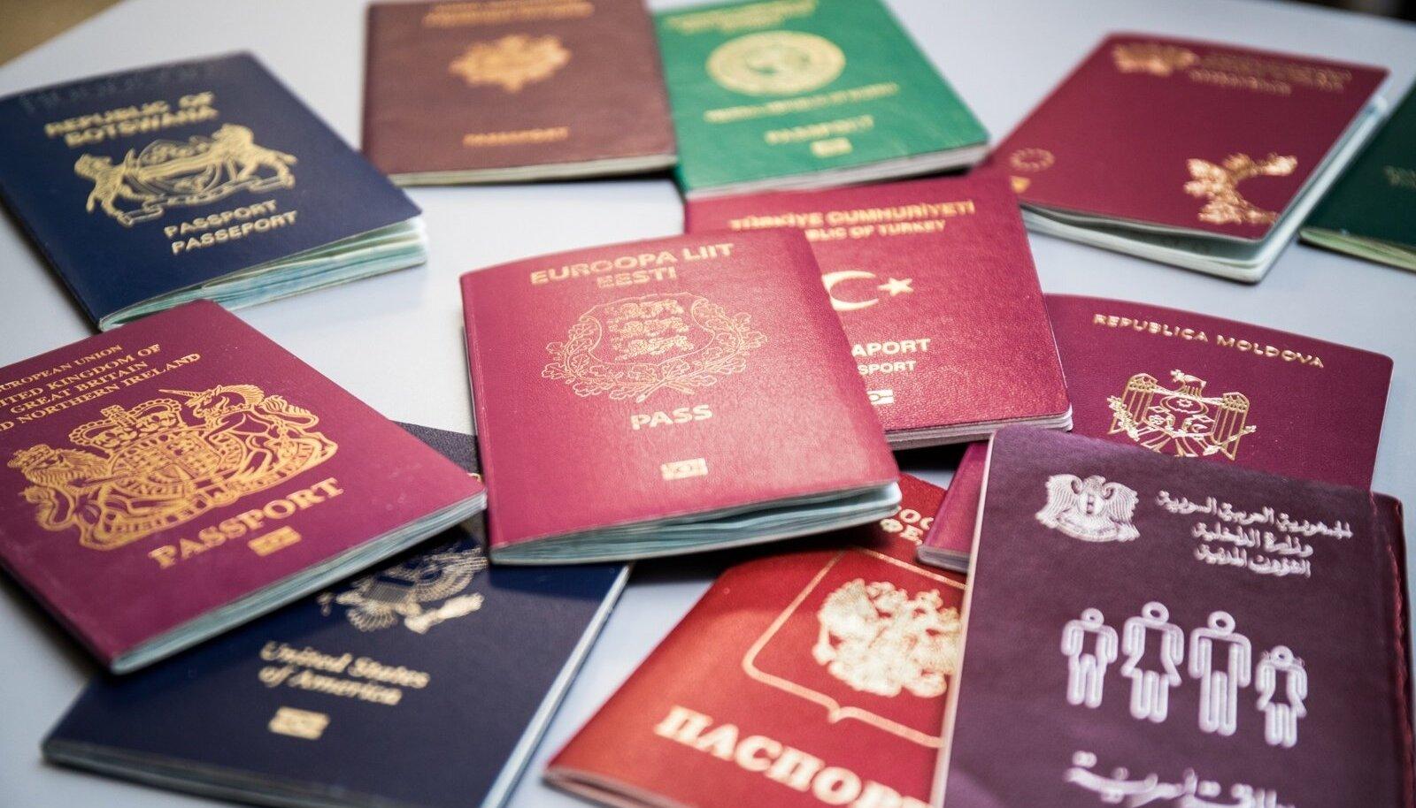 Erinevad passid