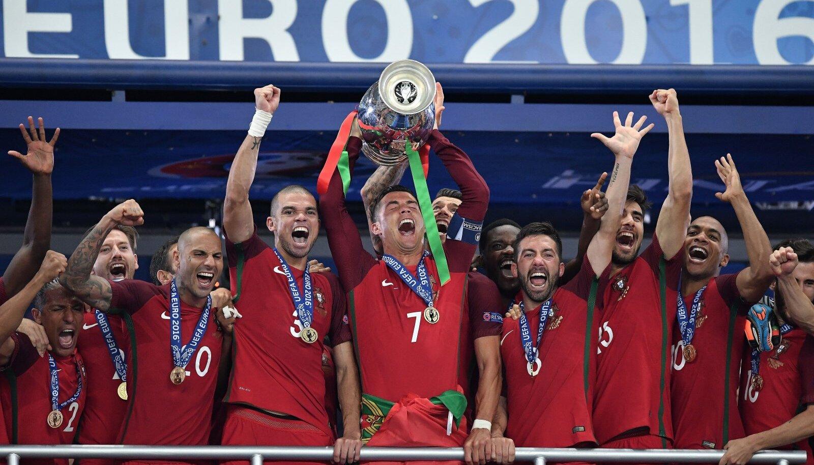 Portugal triumfeeris 2016. aasta EM-il. Kas neli aastat hiljem avaneb neil võimalus üldse tiitlit kaitsta?