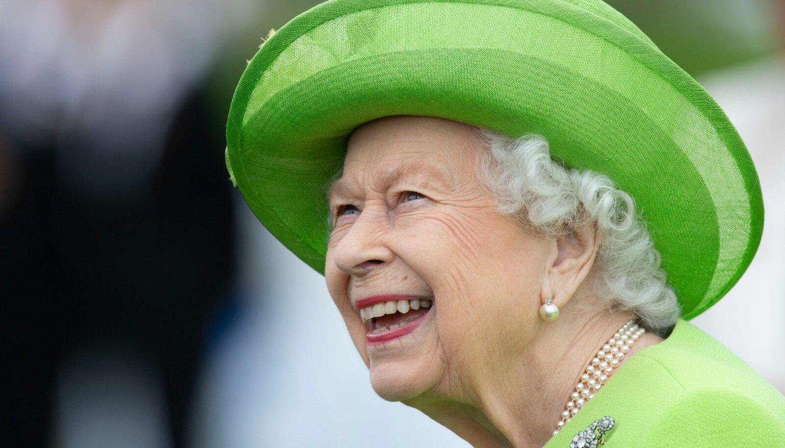 Queen Elizabeth II at Guards Polo Club