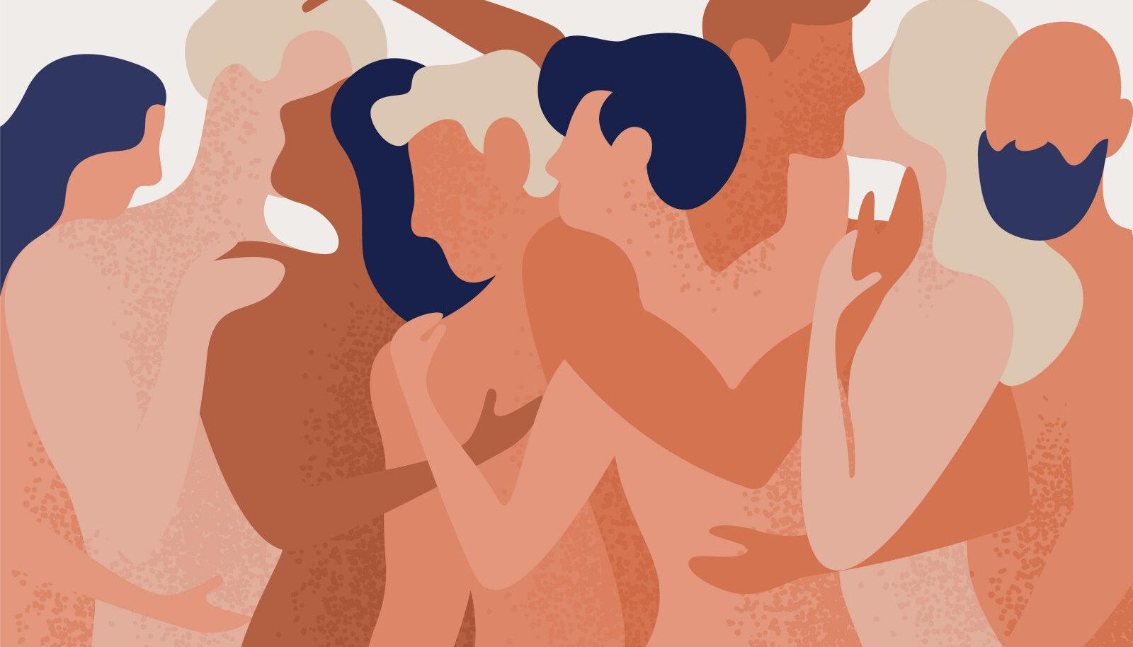 Polüamooria tähistab intiimsuhteid, kus inimestel on üksteise teadmisel ning täiel nõusolekul ja kokkuleppel mitu partnerit korraga.