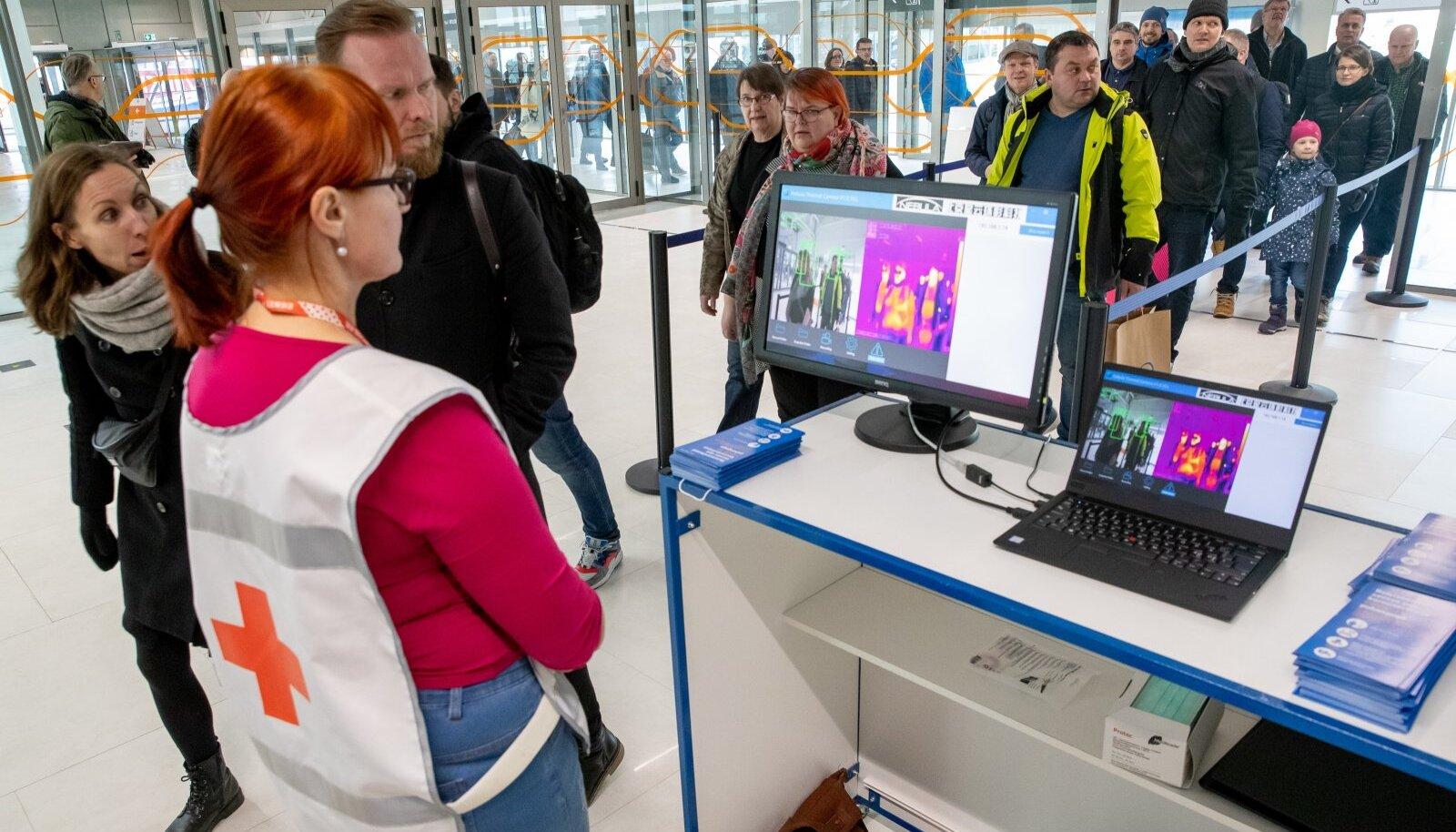 Kevadel paigaldati Tallinna reisisadamasse termokaamerad.