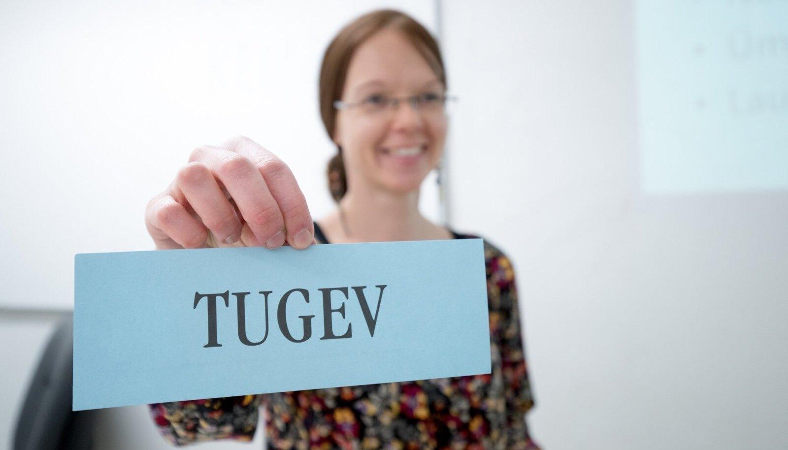 eesti keele tund TLÜ-s, foto on illustratiivne