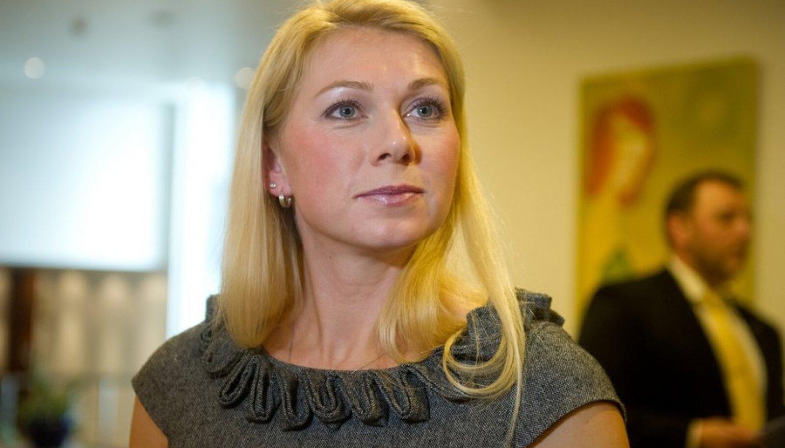 Šmigun-Vähi tunnistab, et tõrkus esialgu kandideerimise vastu.