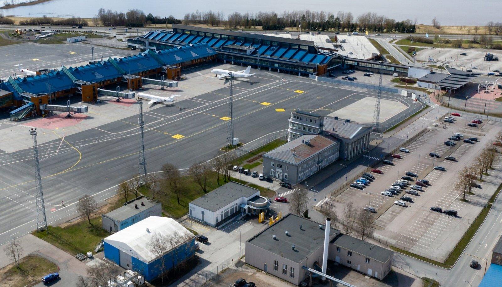 Tallinna lennujaama on viimasel kuul iseloomustanud vaikelu.
