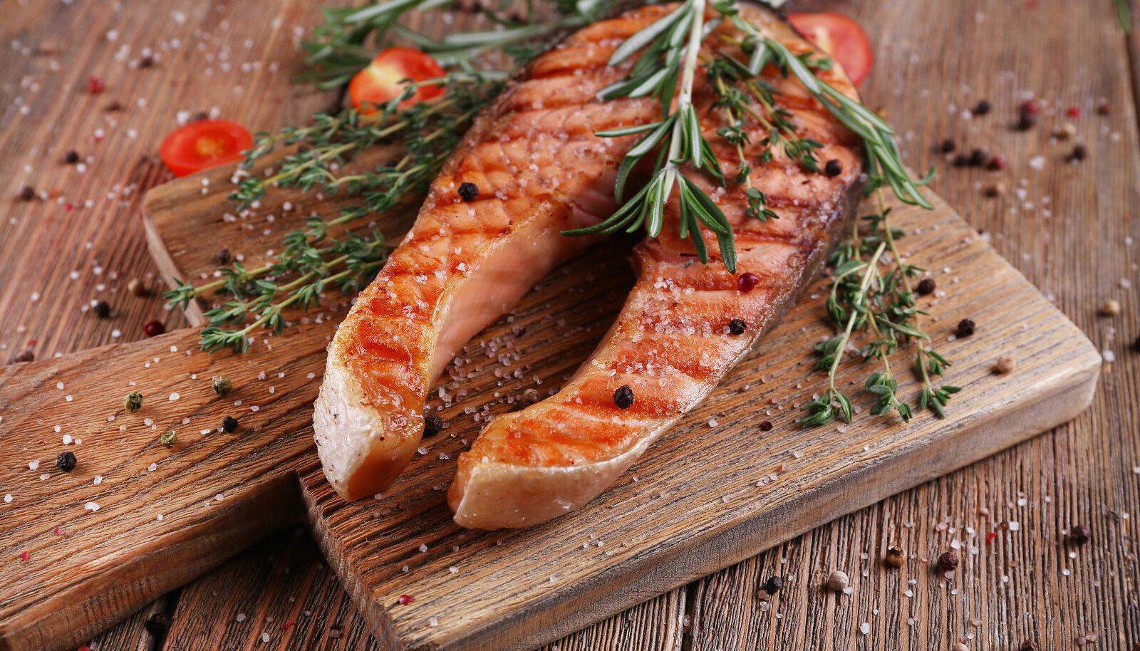 Kala rasvhapete hulgas on oluliselt palju asendamatuid rasvhappeid (Shutterstock)