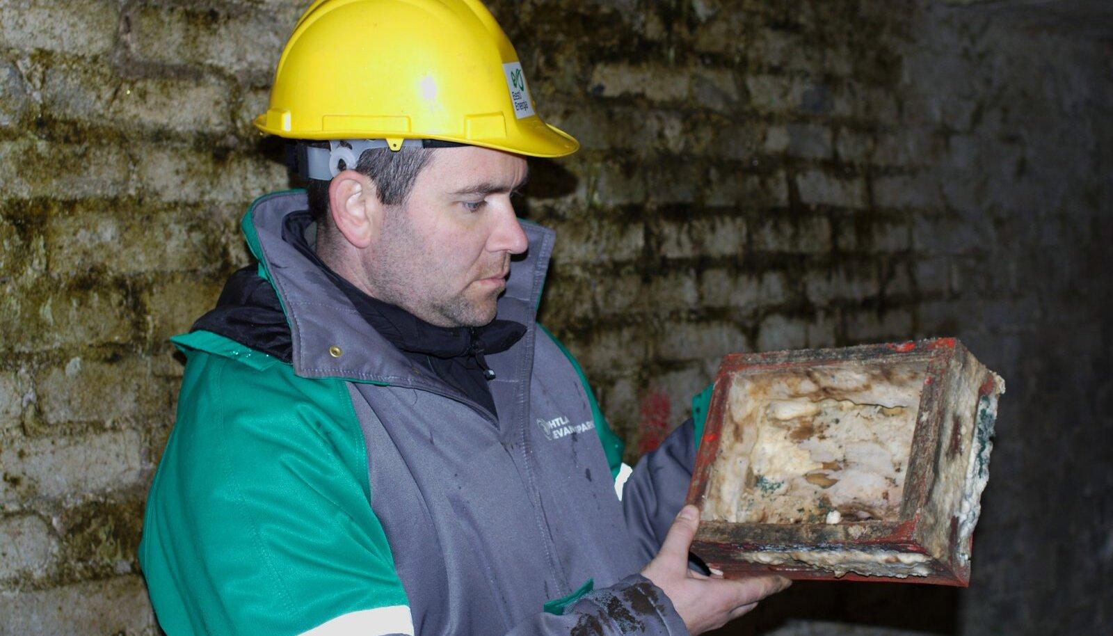 Leho Tedersoo kaevandusmuuseumis seene
