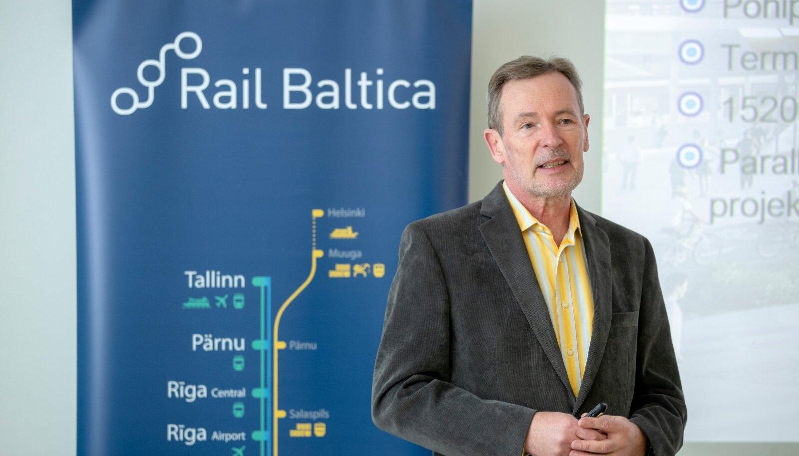 Briifing Rail Baltic Estonia kontoris, Tõnu Grünberg