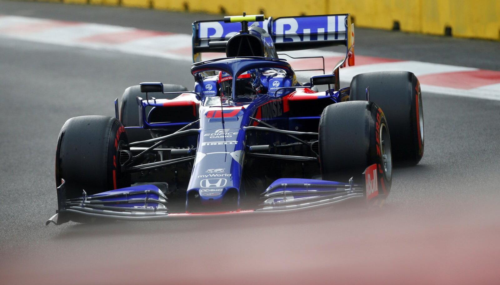 Toro Rosso on üks kahest tiimist, kes lisaks põhisõitjatele ka kolmandale mehele vabatreeningul võimaluse on andnud.