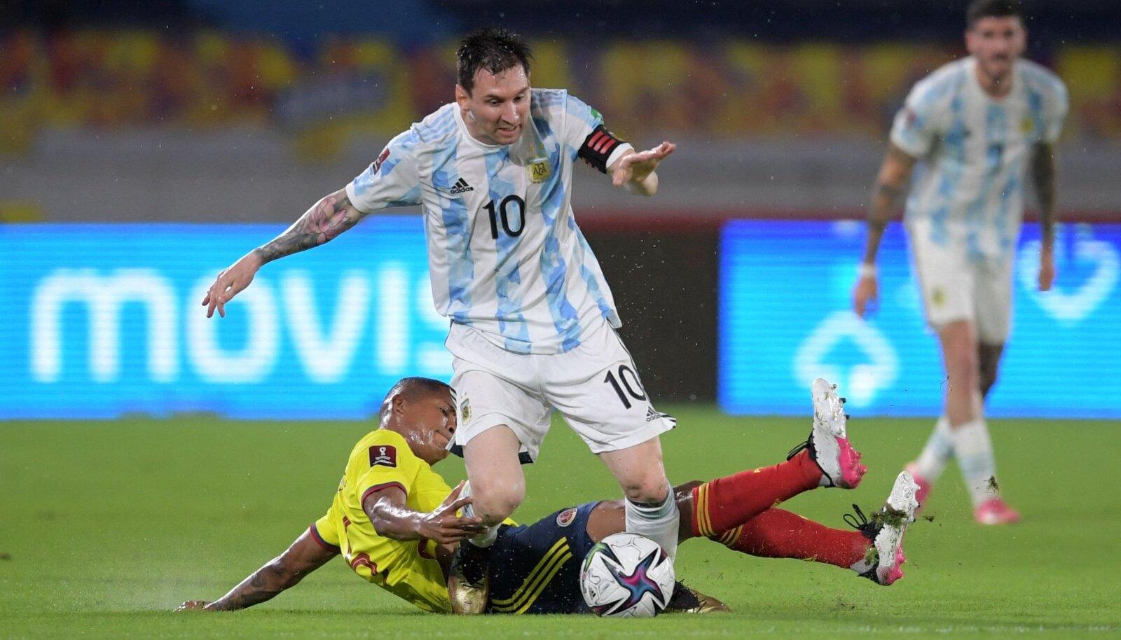 Lionel Messil ei õnnestunud Argentiinat võidule aidata.