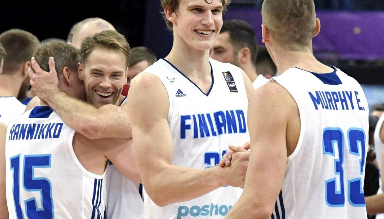 Lauri Markkanen on kerkinud ühe suvega Soome koondise liidriks