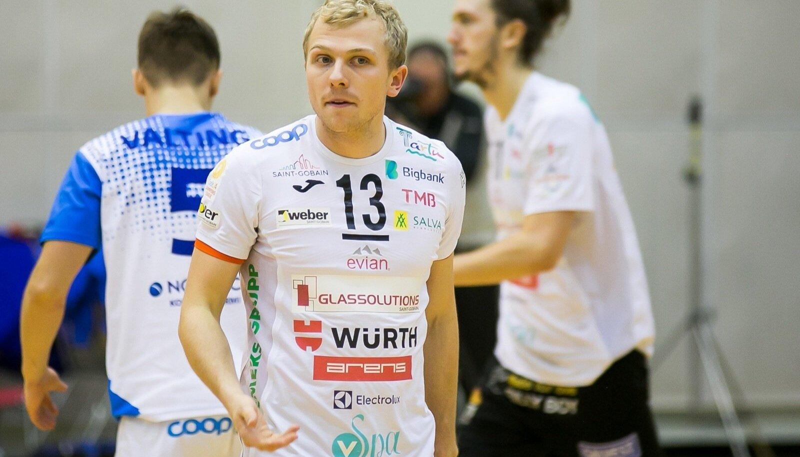 Credit 24 võrkpall meistriliiga, Saaremaa Bigbank Tartu, Võitis Saaremaa Vl 3:2