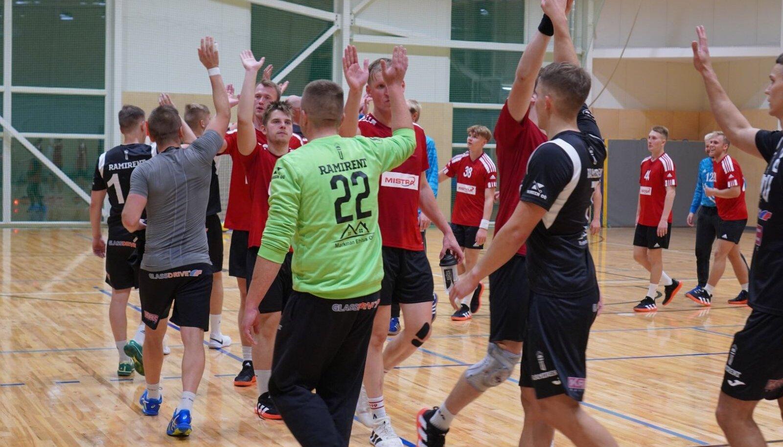 Tartu Ülikooli ja Raasiku/Mistra vahelisest karikasarja kaheksandikfinaalist edenes järgmisse ringi viimane.