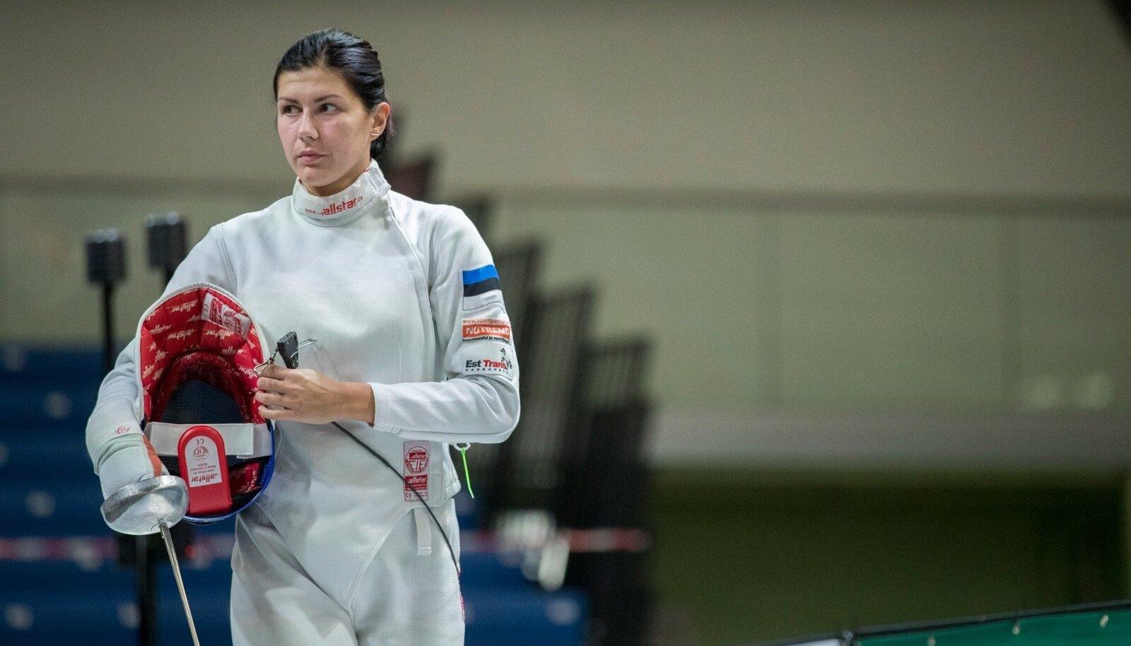 Julia Beljajeva jahib Wuxis 12. tiitlivõistluste medalit.