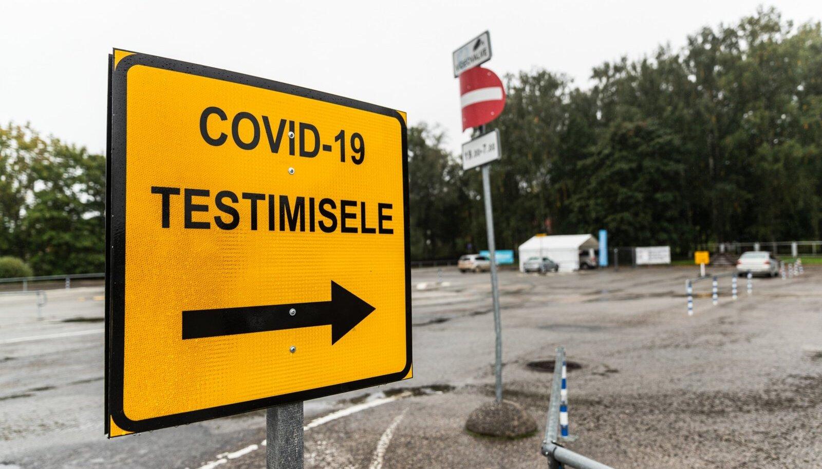 Covid-19 testimine
