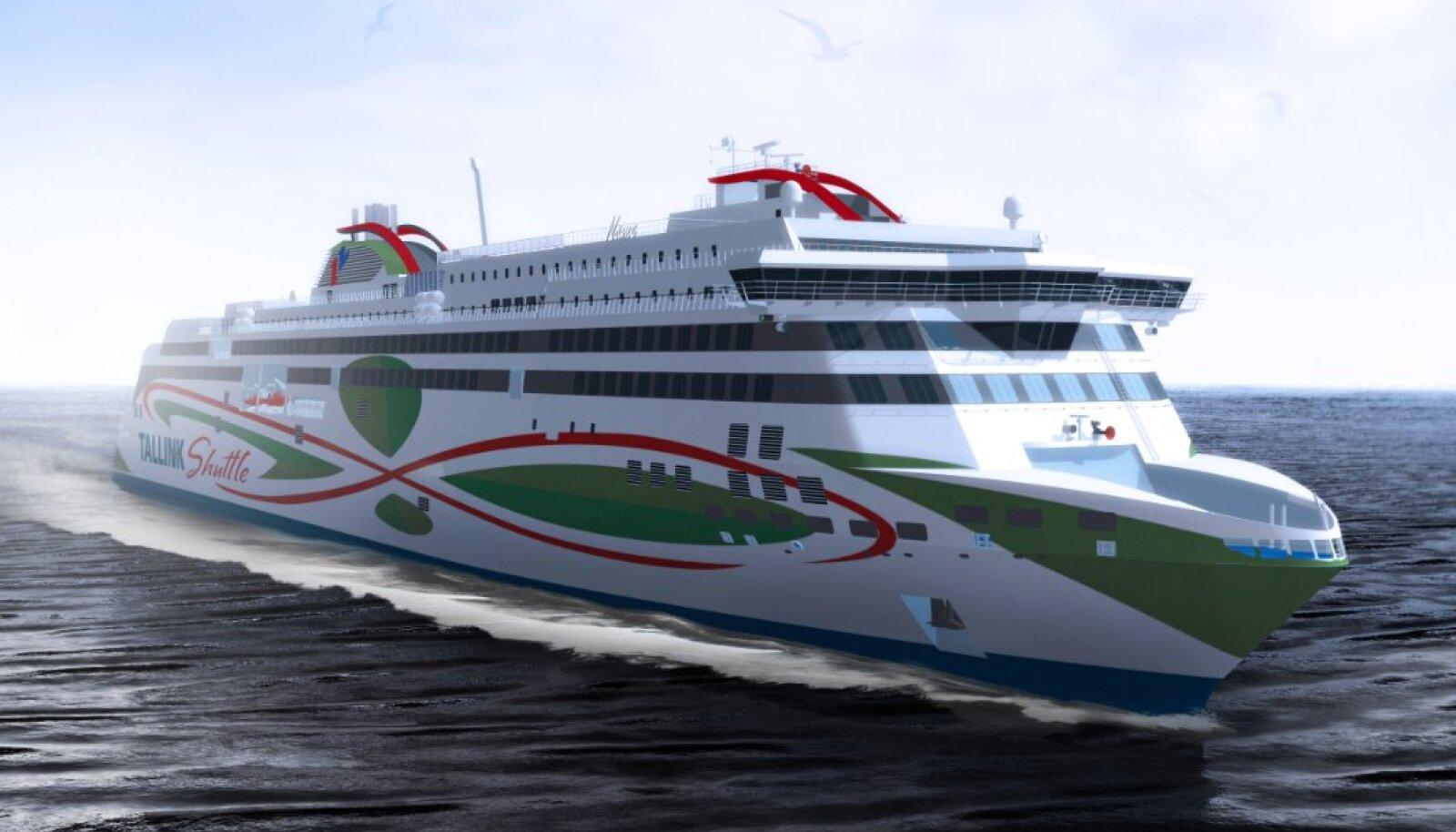 Megastar saab olema 212 meetrit pikk laev, mis võtab korraga peale kuni 2800 reisijat