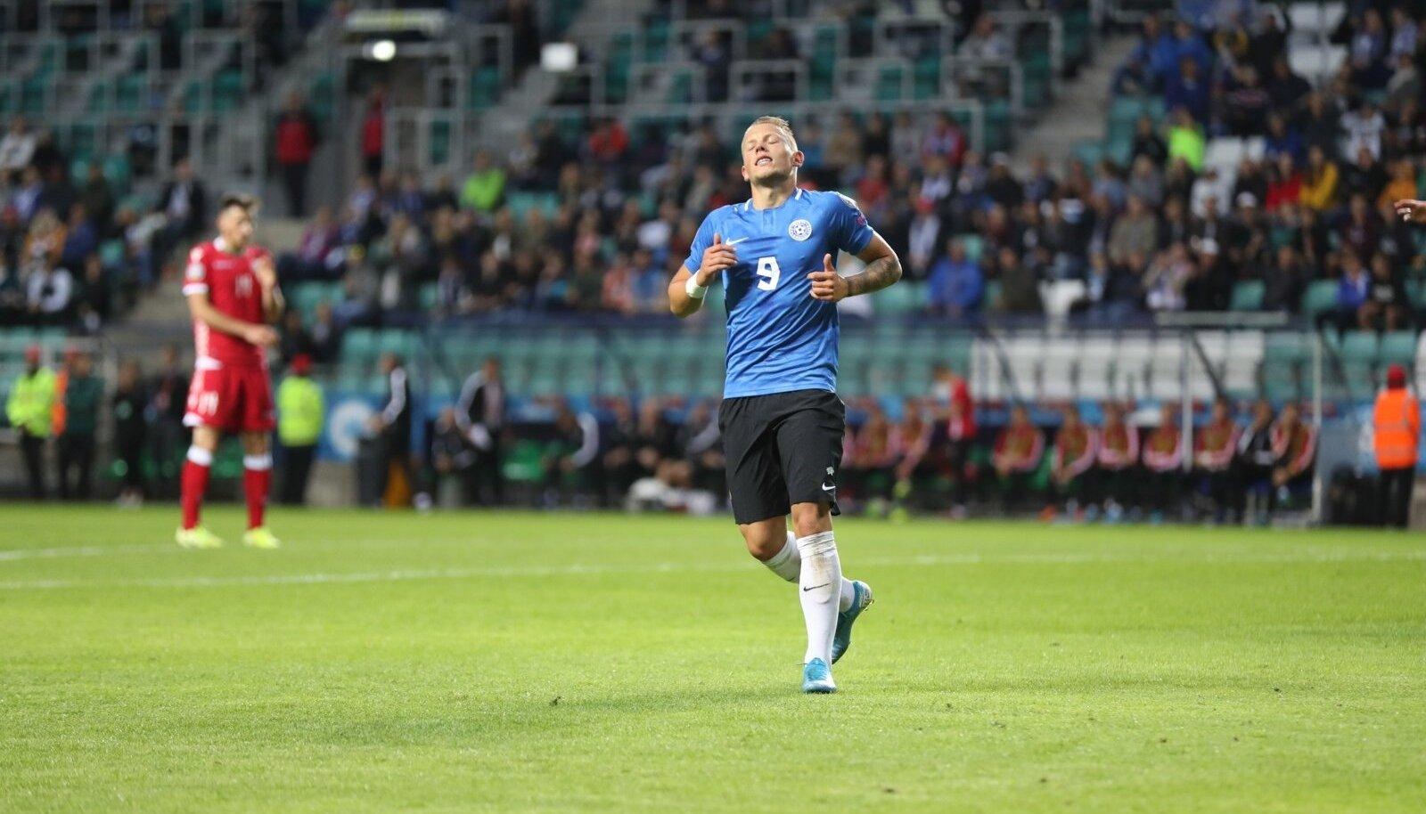 Erik Sorga tegi küll korraliku esituse, kuid tema värav ei päästnud Eestit kaotusest