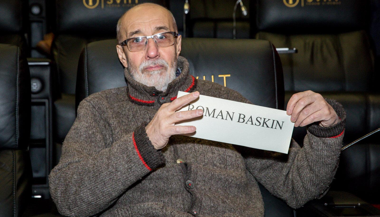 """Roman Baskin (""""Minu näoga onu"""") kandideerib kategoorias """"Parim meesnäitleja filmis""""."""