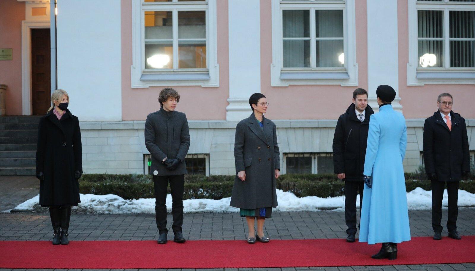 President nimetamas ametisse Kaja Kallase valitsust