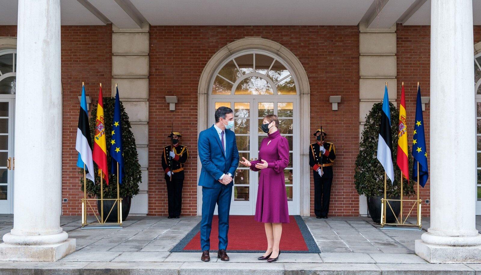 Встреча с премьером Испании
