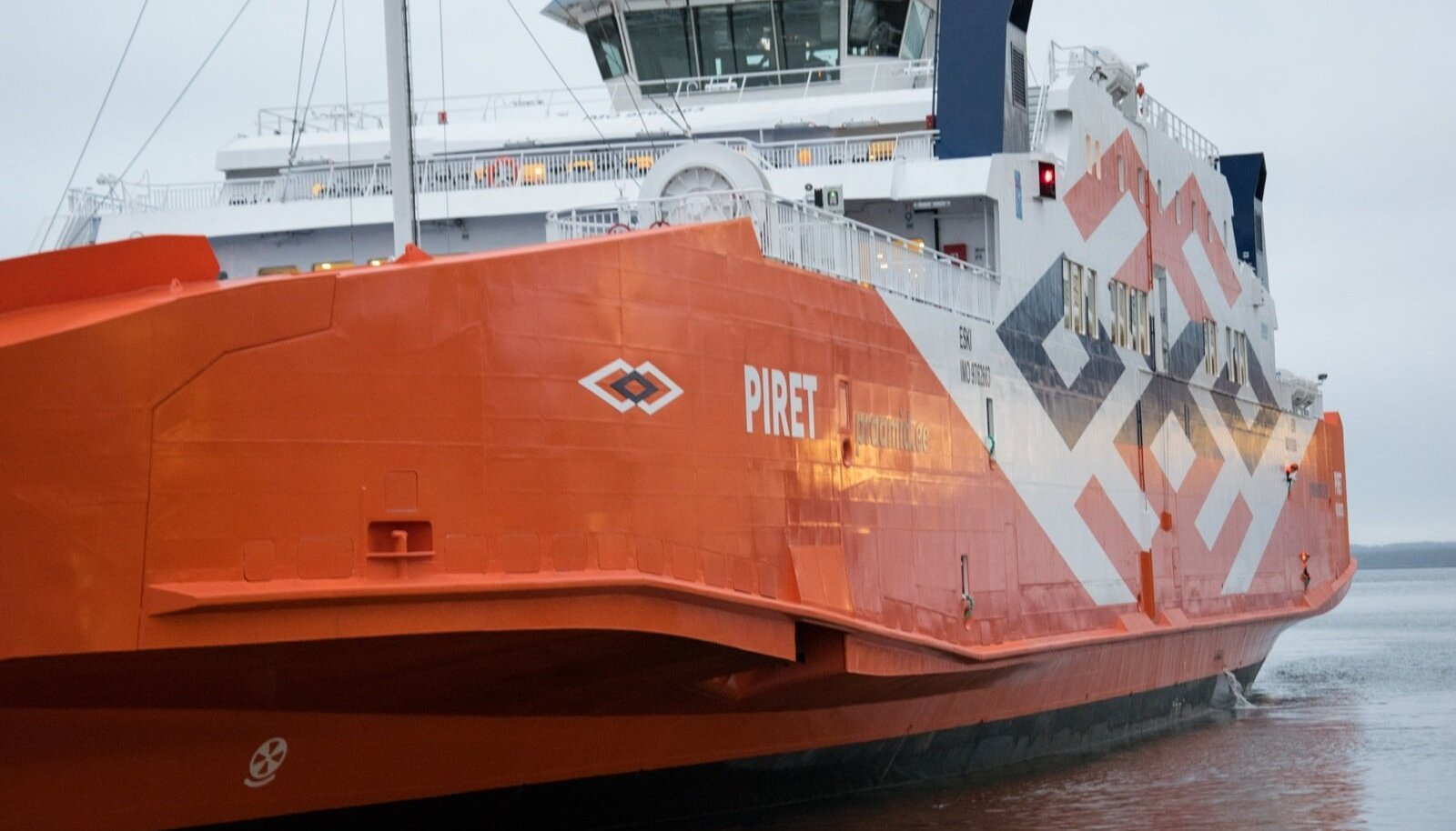Parvlaev Piret saabus Vanasadamasse