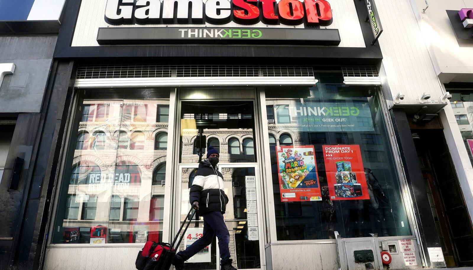 GameStopi esinduspood New Yorgis
