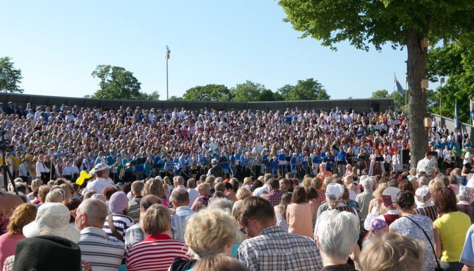 Saaremaal toimunud kahepäevane  laulupidu Saagu, saagu üks sar toi kokku inimesi üle Eesti